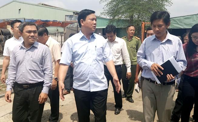Bí thư Đinh La Thăng truy vấn gay gắt chủ tịch xã Xuân Thới Sơn
