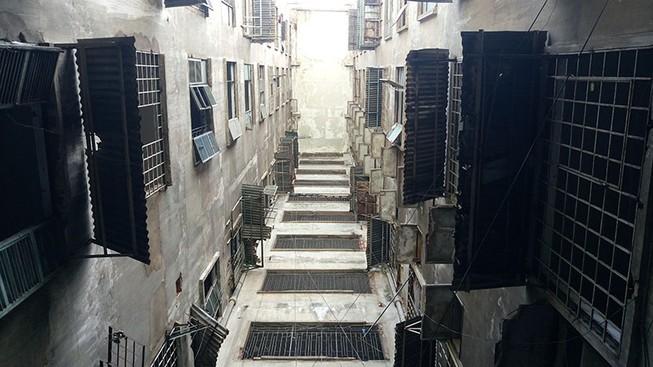 Bên trong chung cư 'ma' sắp được tháo dỡ giữa trung tâm thành phố