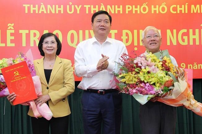 Hai nguyên lãnh đạo TP.HCM chính thức nghỉ hưu