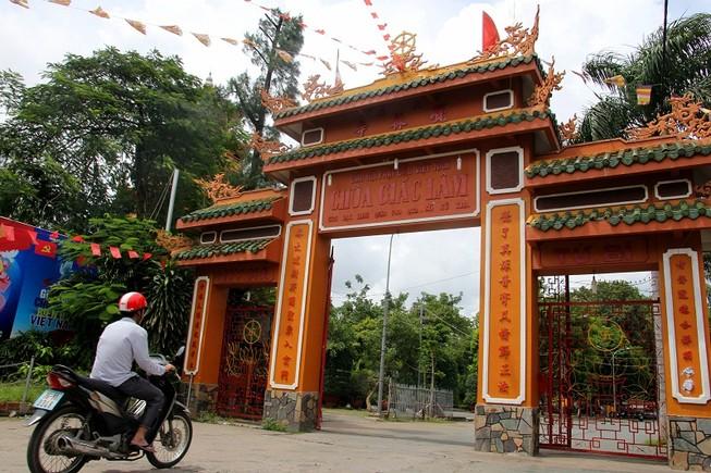 Ngôi chùa gần 300 năm tuổi giữa lòng thành phố