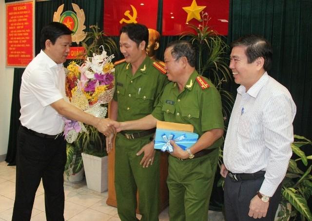 Kỳ vọng của Bí thư Đinh La Thăng đối với công an TP.HCM