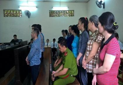 Đường dây buôn sĩ heroin xuyên Việt hầu tòa