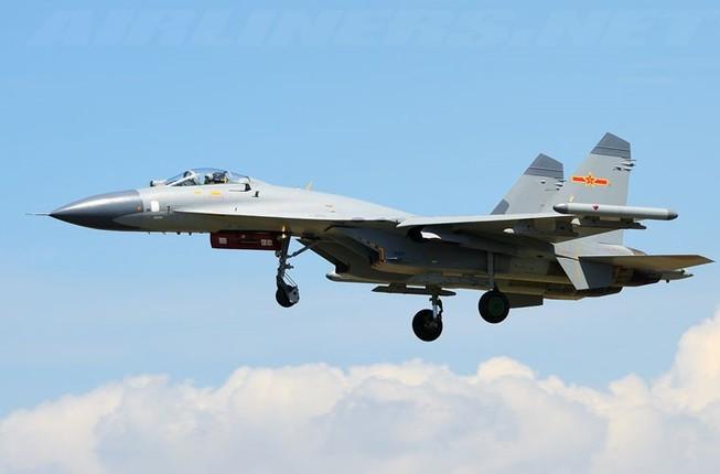 Trung Quốc đưa gần 10 máy bay chiến đấu ra đảo Phú Lâm