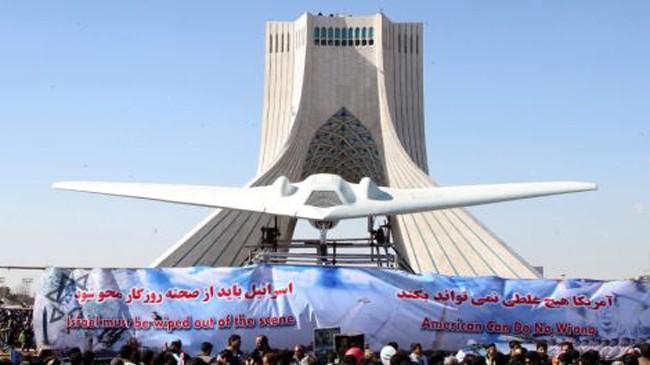 Iran sao chép thành công máy bay do thám Mỹ