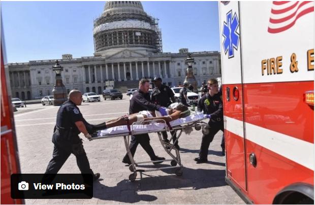 Nổ súng ở tòa nhà Quốc hội Mỹ