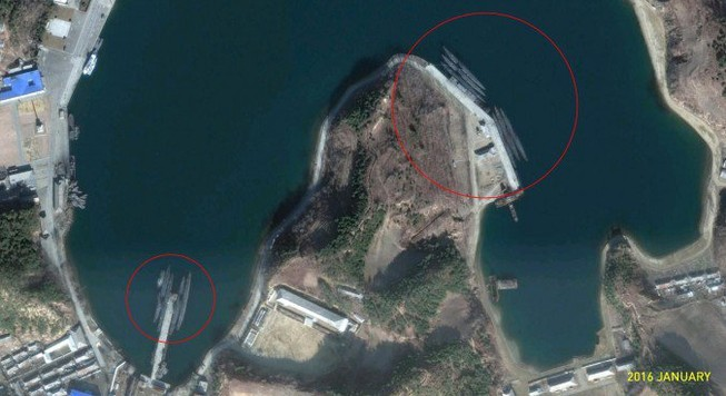Triều Tiên thất bại trong phóng tên lửa đạn đạo từ tàu ngầm