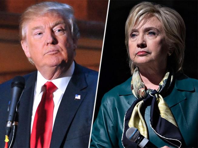 Bà Clinton và ông Trump thắng lớn tại bang nhà New York