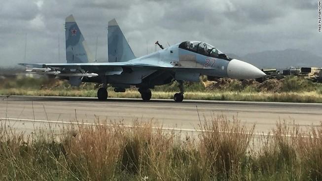 Sức mạnh không quân Nga vẫn rất mạnh ở Syria
