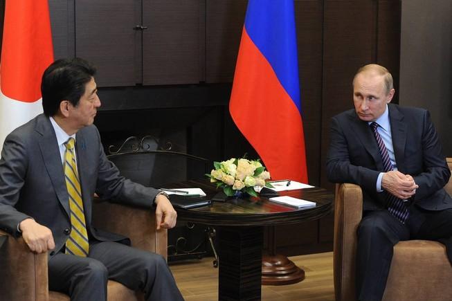 Nhật cải thiện quan hệ với Nga để kiềm chế Trung Quốc