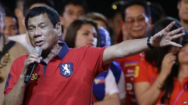 Philippines bầu cử tổng thống trong bạo lực