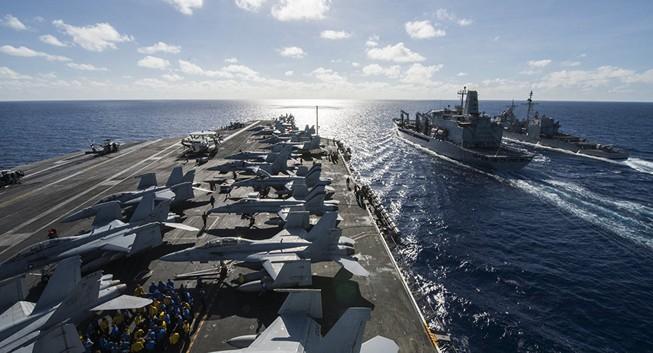 Iran dọa đánh chìm tàu chiến Mỹ ở vịnh Ba Tư