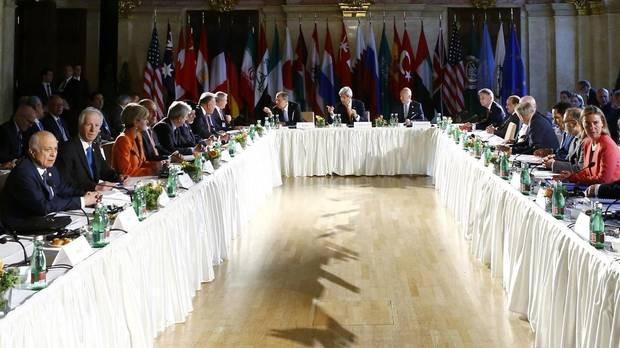 Các nước họp bàn số phận tổng thống Syria