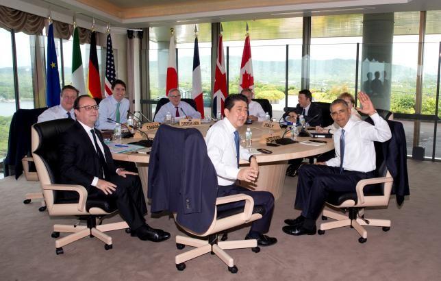 G7 ưu tiên tăng trưởng toàn cầu, lo ngại biển Đông