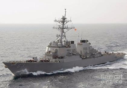 3 tàu khu trục tên lửa Mỹ tuần tra biển Đông