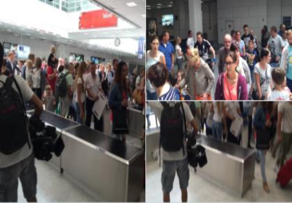 Sân bay Nice sơ tán vì sợ khủng bố