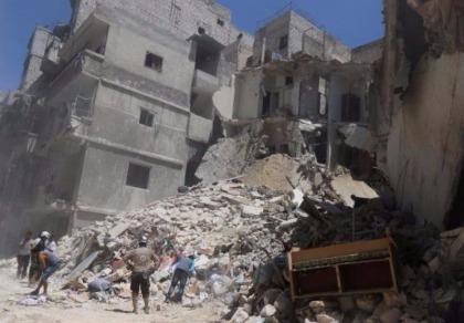 Quân đội Syria bao vây phe nổi dậy ở Aleppo