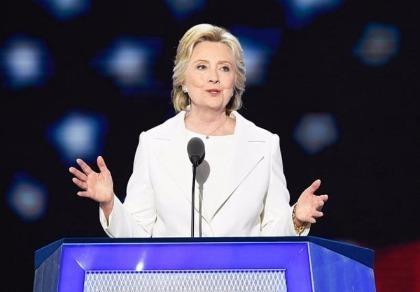 Bà Clinton: 'Nước Mỹ bị thách thức, vẫn lạc quan và vĩ đại'