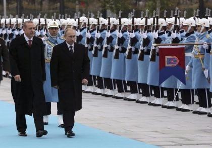 Tổng thống Thổ Nhĩ Kỳ bay sang Nga gặp Putin