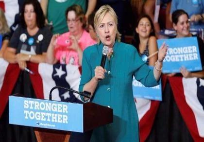 Bà Clinton: Ông Trump đã đi quá giới hạn khi kích động bạo lực