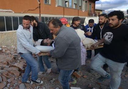 63 người chết, hàng trăm người mất tích vì động đất ở Ý