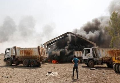 Iraq: Kho vũ khí phát nổ, kích hoạt pháo bay giết người