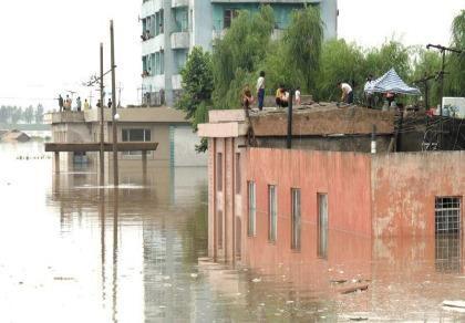 Lần hiếm hoi Triều Tiên công khai kêu gọi cứu trợ lũ lụt