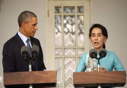 Bà Suu Kyi sang Mỹ gặp ông Obama