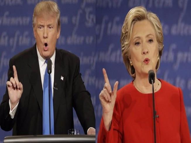 Tranh luận đầu tiên: Clinton dồn Trump vào thế tự vệ