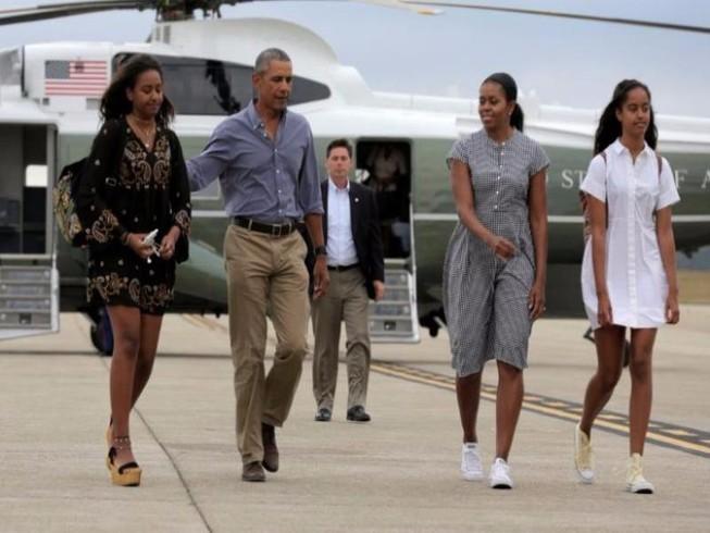 Obama: Con gái tổng thống cứ nhập ngũ nếu muốn