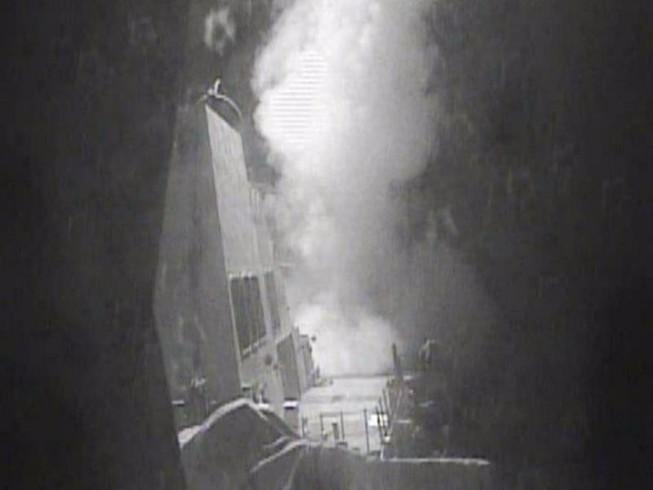 Tàu chiến bị tấn công, Mỹ phóng tên lửa trả đũa