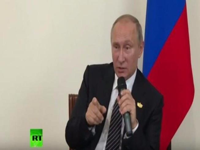 Putin: Nga không can thiệp bầu cử tổng thống Mỹ