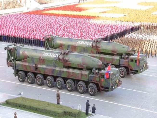 Triều Tiên tuyên bố sẵn sàng tấn công hạt nhân phủ đầu