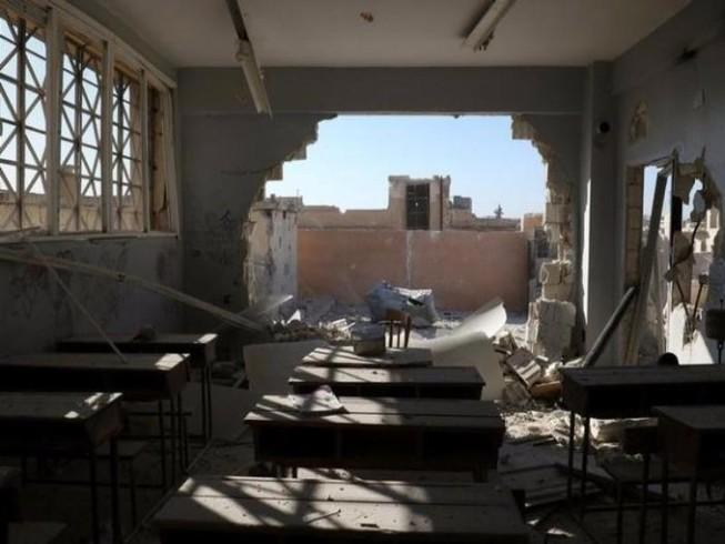 Không kích trường học, giết 28 học sinh, giáo viên
