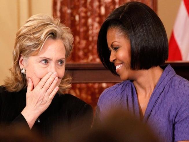 Bà Clinton muốn đưa bà Obama vào nội các mới
