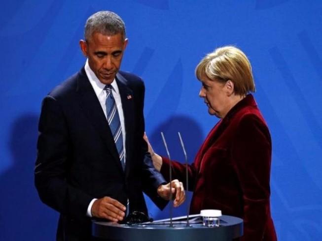 Obama, Merkel đề nghị Trump cứng rắn với Nga