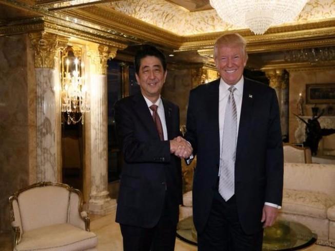 Gặp Trump, ông Abe nhận định Trump là lãnh đạo đáng tin
