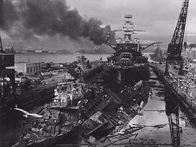 13 tàu chiến Mỹ sống lại sau trận Trân Châu Cảng