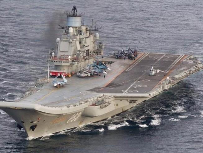 Nga rút tàu sân bay, tàu chiến khỏi Syria