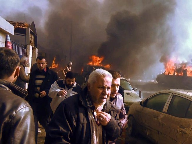 43 người chết vì đánh bom xe tải ở tỉnh Aleppo-Syria
