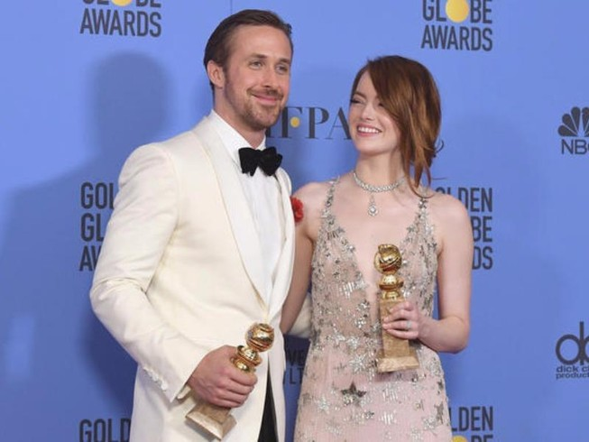Quả cầu vàng 2017: Kỷ lục mang tên La La Land!