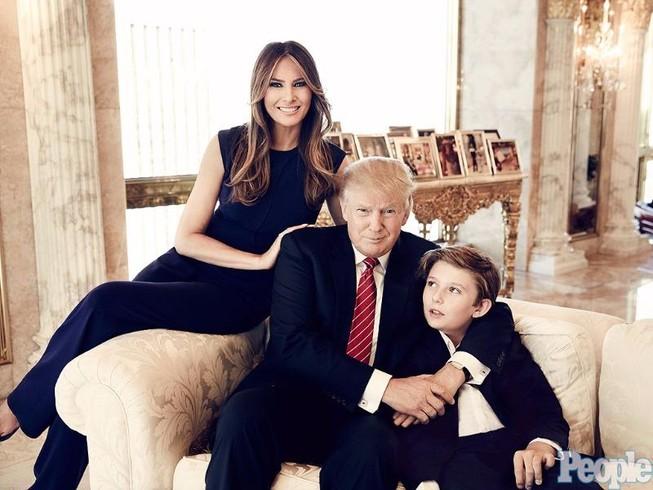 Bà Melania Trump về lại New York