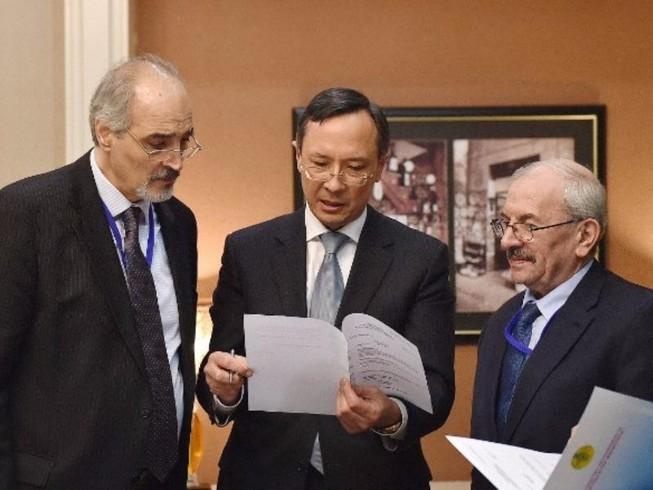 Hòa đàm Syria bắt đầu ở Kazakhstan