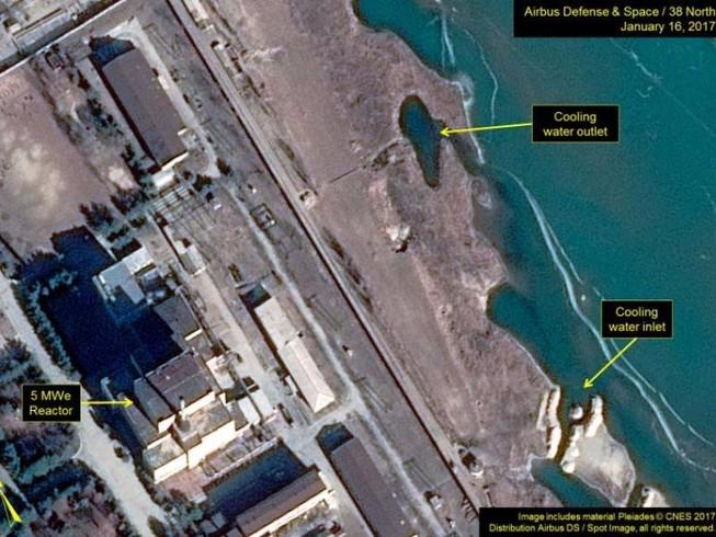 Mỹ: Triều Tiên tái khởi động lò phản ứng hạt nhân  
