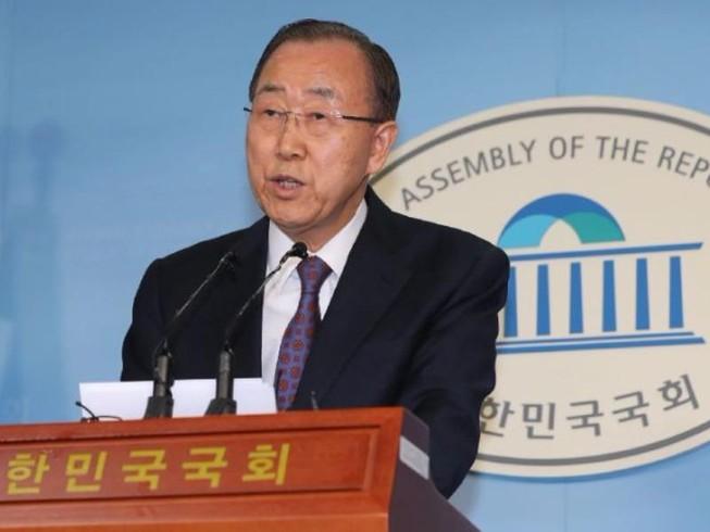 Chán chính trị Hàn, Ban Ki-moon bỏ tranh cử tổng thống