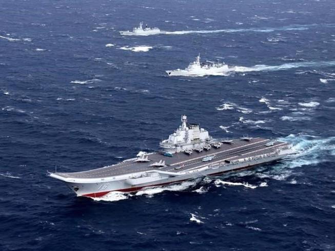 Tàu sân bay Trung Quốc tự đóng đã thành hình