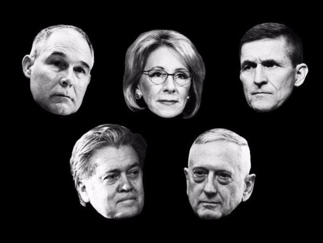 Quy mô nội các ông Trump lớn hơn 2 đời tổng thống trước