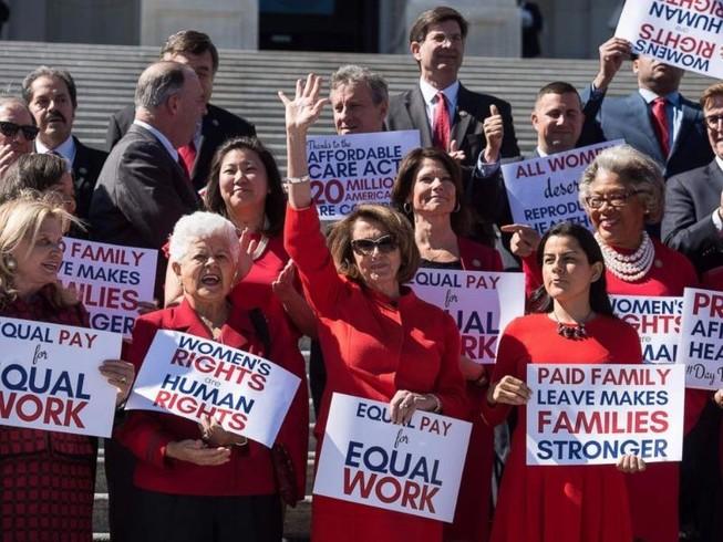 Phụ nữ Mỹ đình công, không tiêu tiền trong ngày 8-3