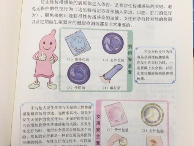 Sách dạy giới tính Trung Quốc bị chỉ trích mạnh