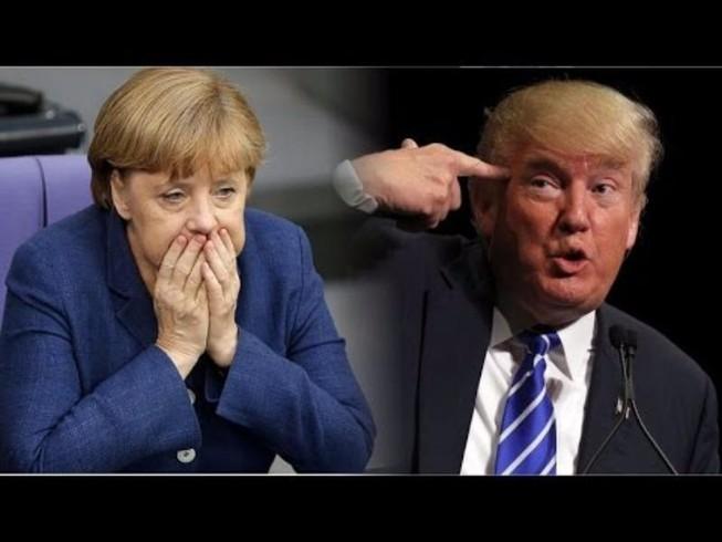 Bà Merkel hồi hộp chờ cuộc gặp với ông Trump