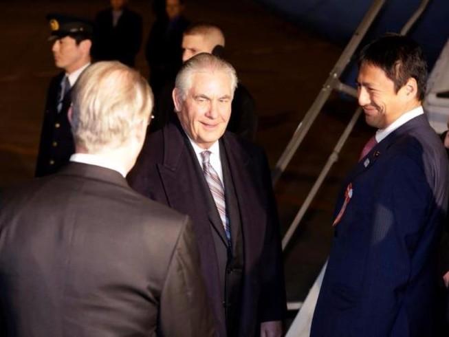 Ông Tillerson thăm châu Á, Mỹ chưa vội đổi chính sách